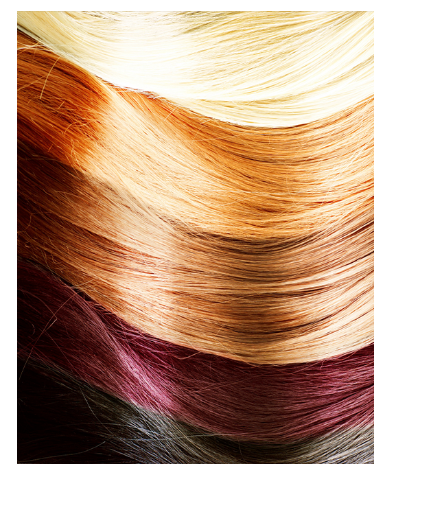 Hair extensions samples